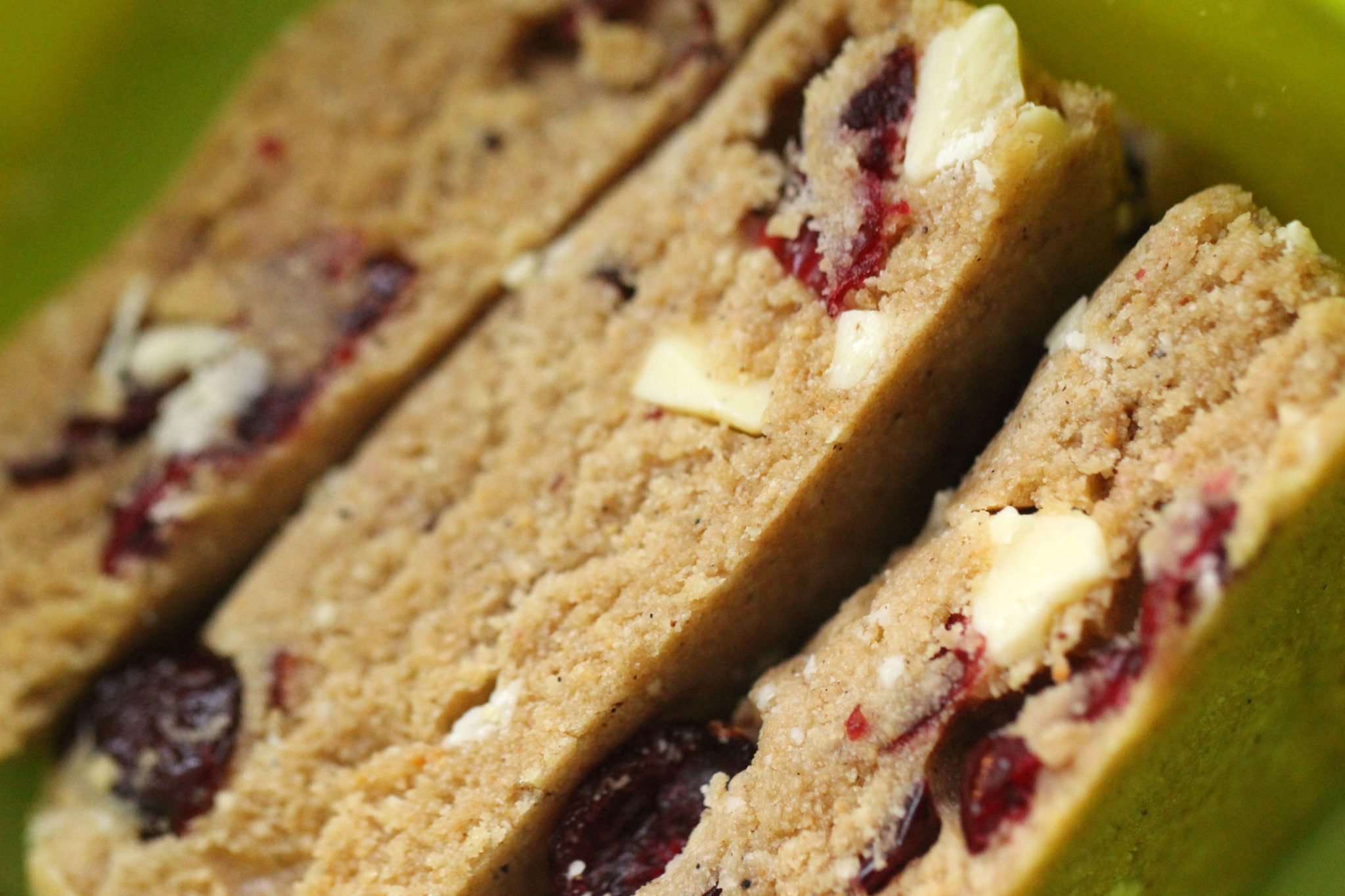 White Chocolate & Cranberry Protein Bars 4